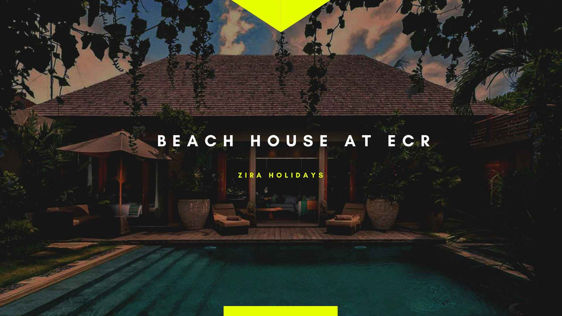 beach house at ecr